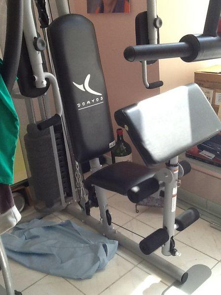 banc de musculation domyos hg 60