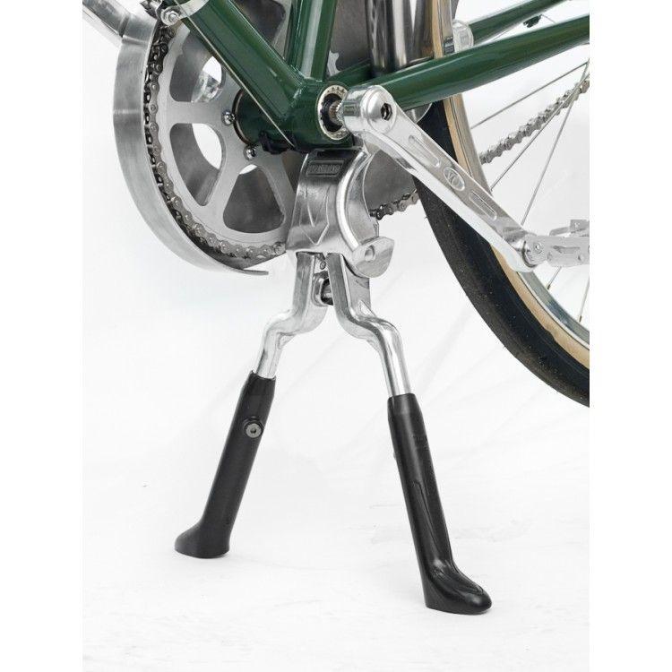 béquille double vélo