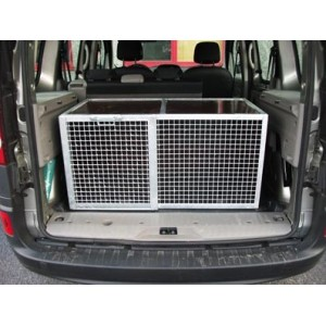 caisse de transport pour chien de chasse