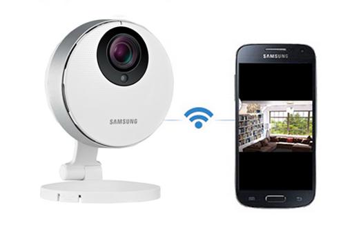 camera connectée smartphone