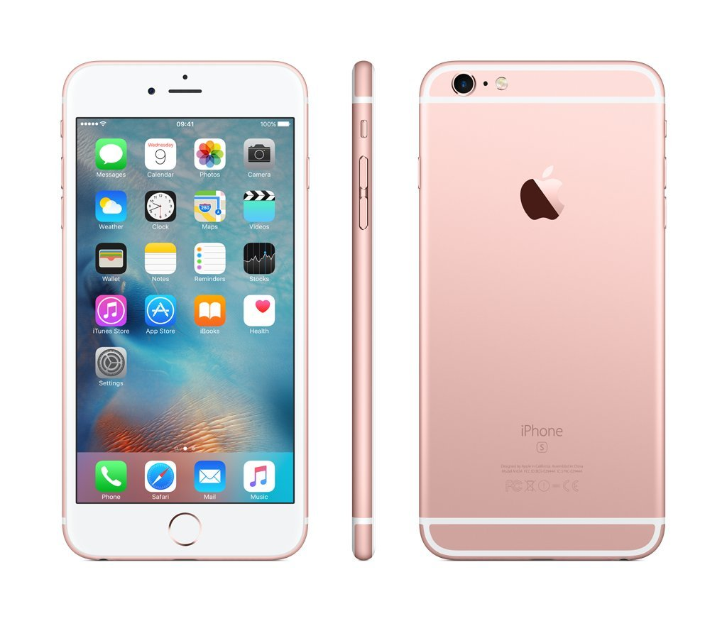 iphone 6s plus rose