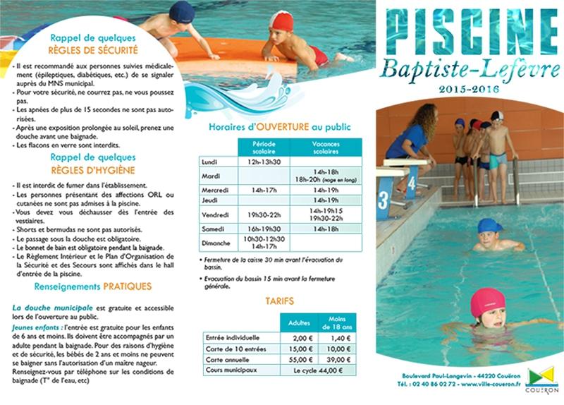 plaquette piscine