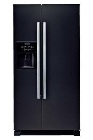 refrigerateur americain noir