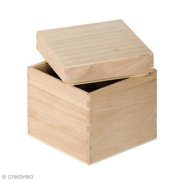 boite cube