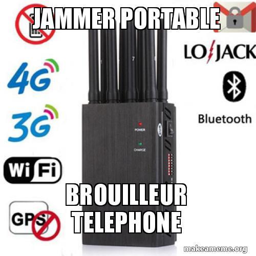 brouilleur telephone