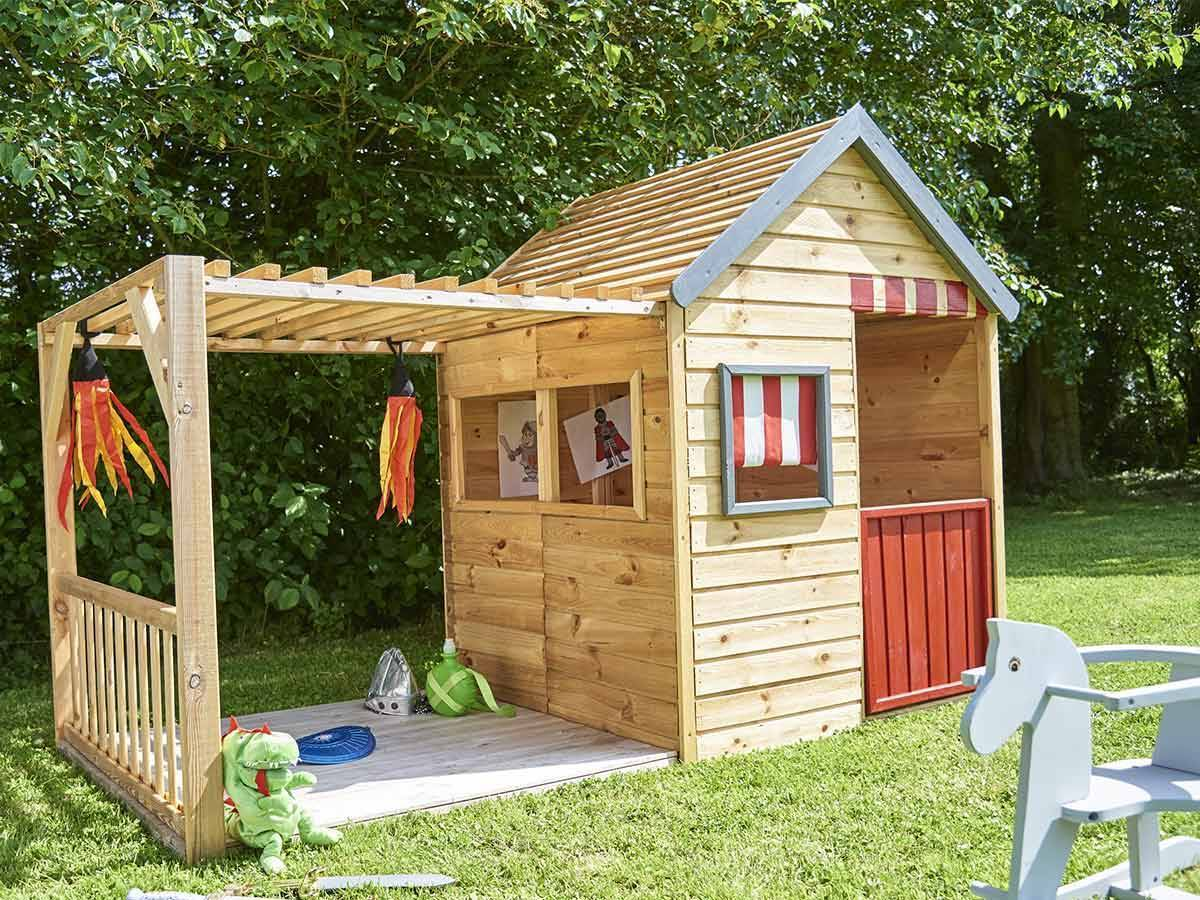 cabane enfant en bois