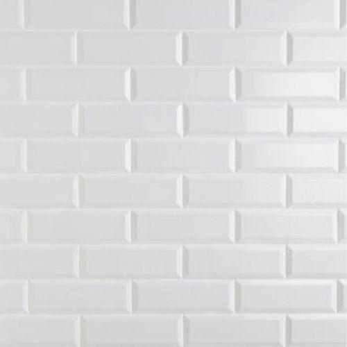 carrelage metro blanc