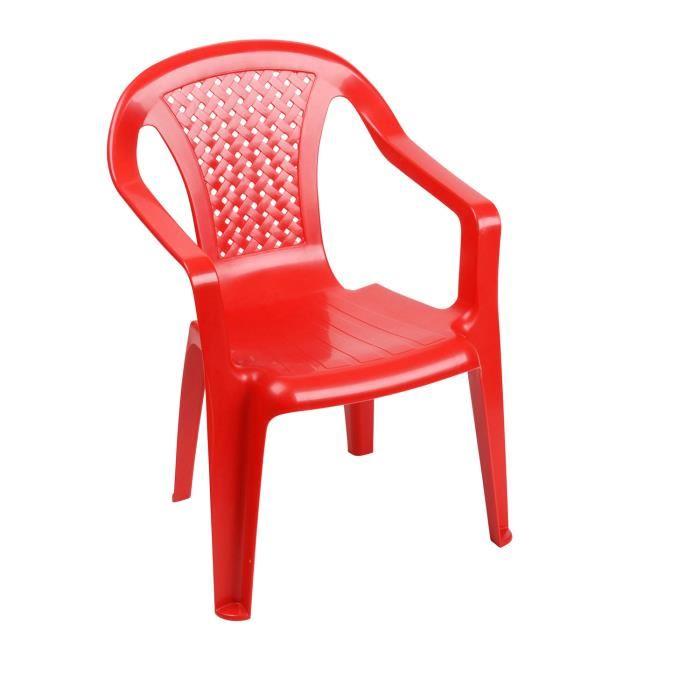 chaise enfant plastique