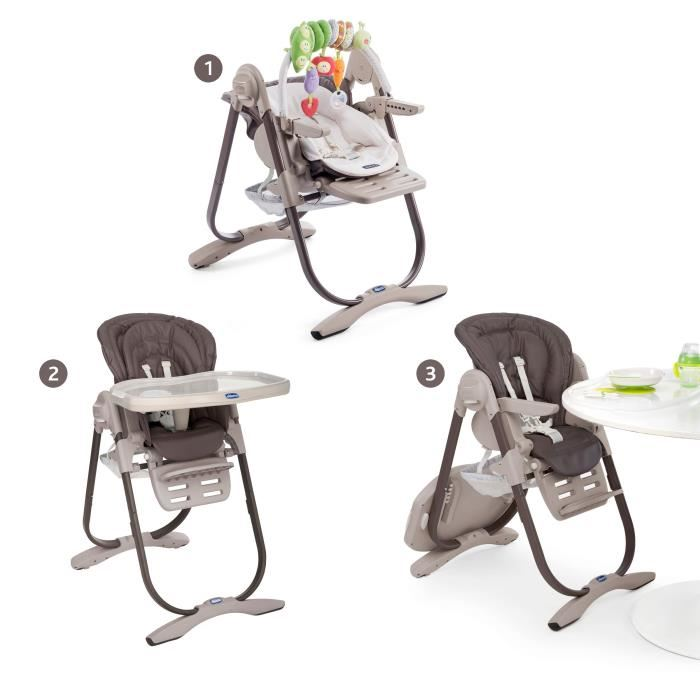 chaise haute chicco evolutive