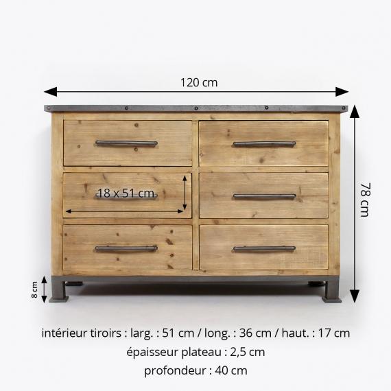commode 40 cm profondeur