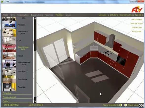 concevoir sa cuisine en 3d gratuit