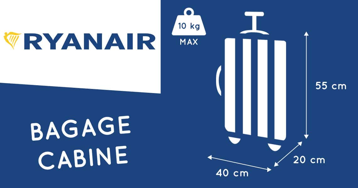 dimension valise cabine ryanair