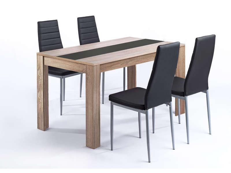 ensemble table chaise
