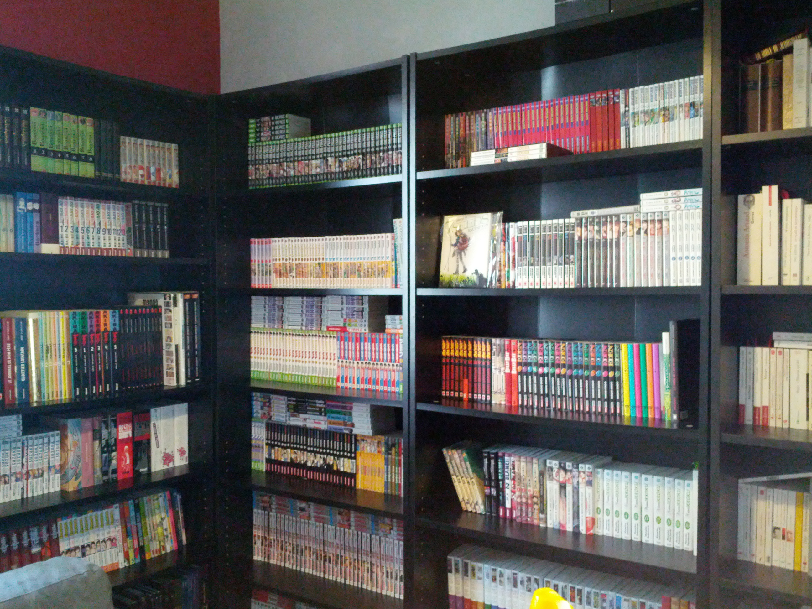 etagere manga