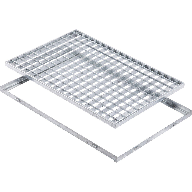 grille caillebotis acier
