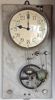 horloge electrique