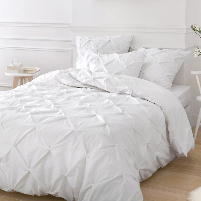 housse couette blanche