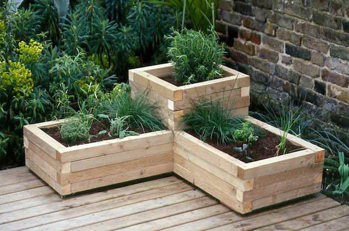 jardiniere bois