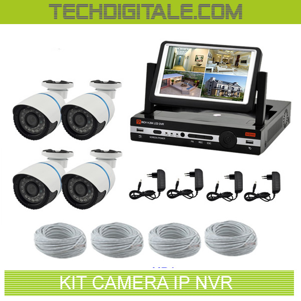 kit camera de surveillance