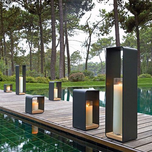 lanterne extérieure bougie