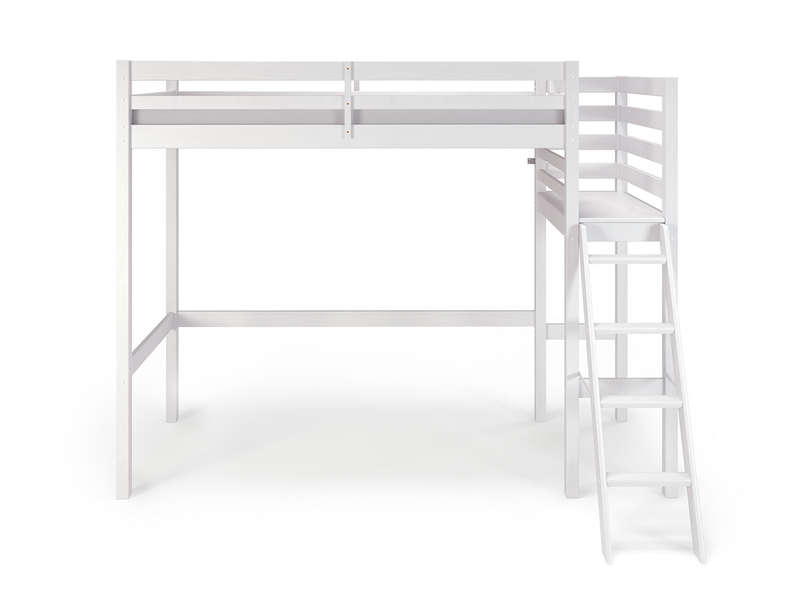 lit mezzanine blanc