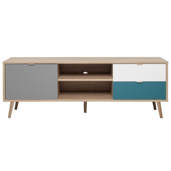 meuble tv bleu