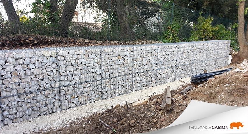 mur de gabion