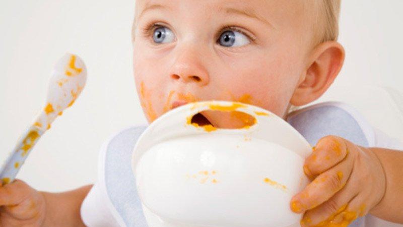 repas bébé