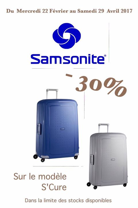 samsonite promo