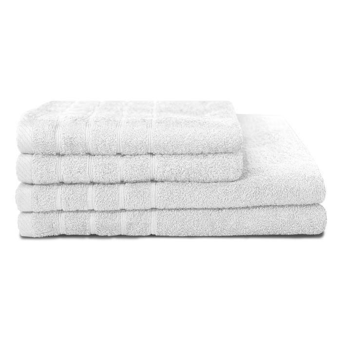 serviette blanche