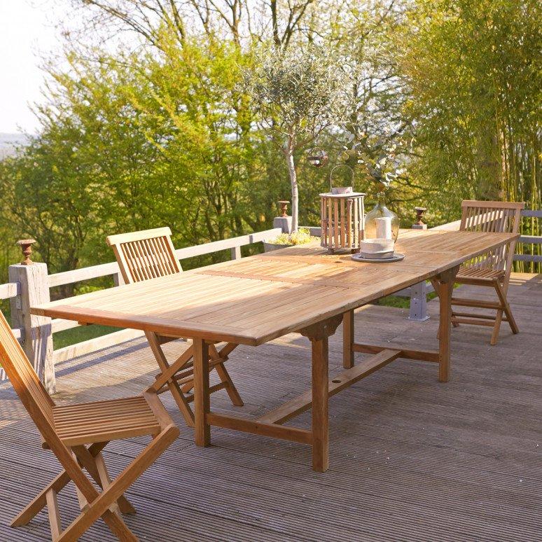 table d extérieur