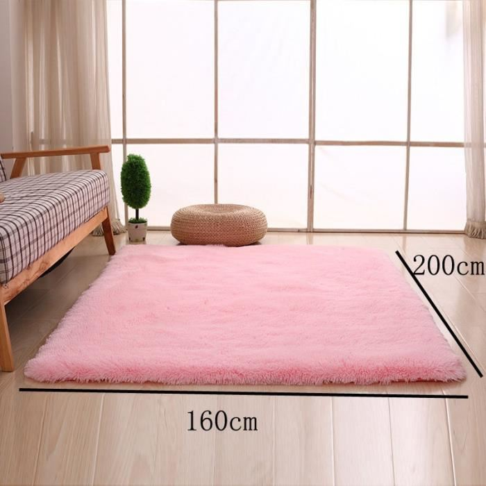 tapis rose pale
