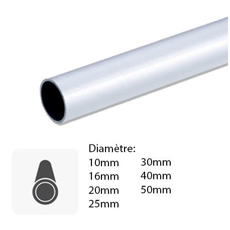 tube aluminium rond
