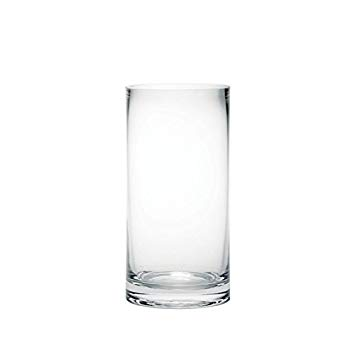 vase verre transparent