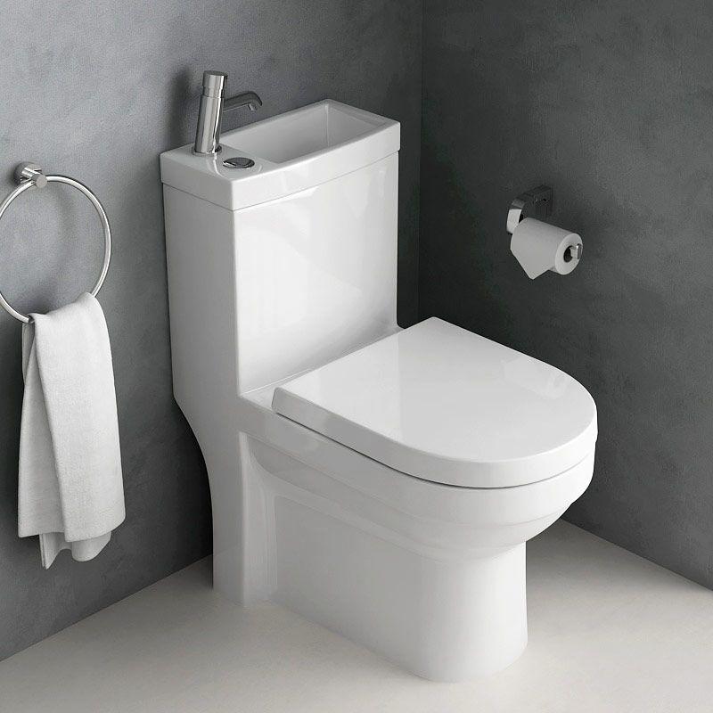 wc avec lave main