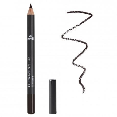 crayon noir yeux