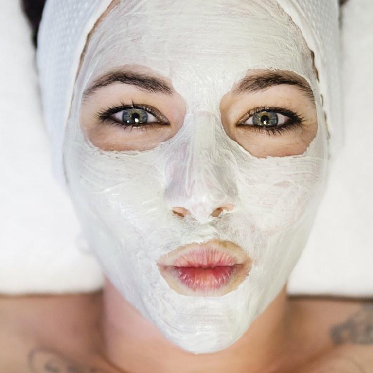 masque de visage