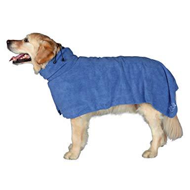 peignoir chien