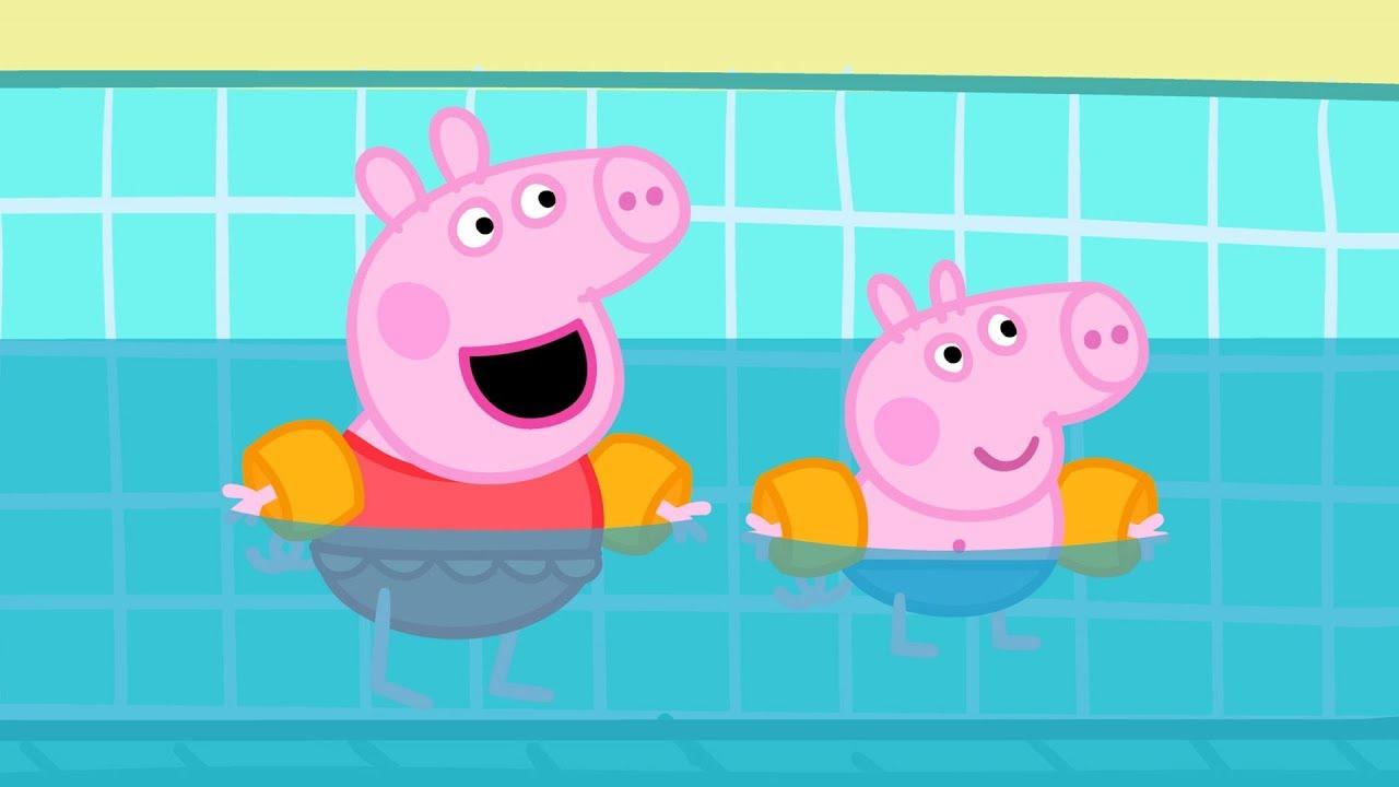 un dessin animé de peppa pig