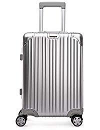 valise aluminium roulette