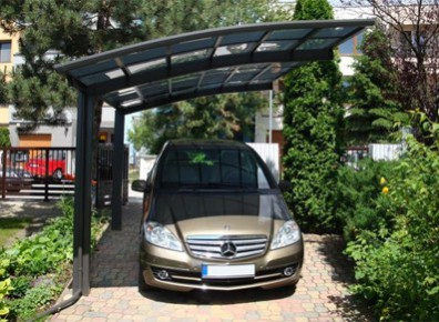 abri voiture aluminium