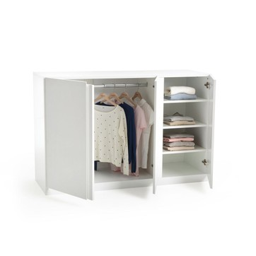 armoire penderie basse