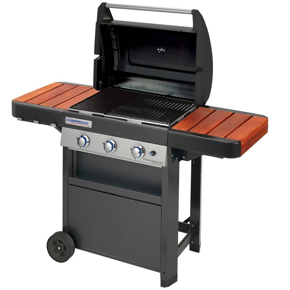 barbecue et plancha gaz