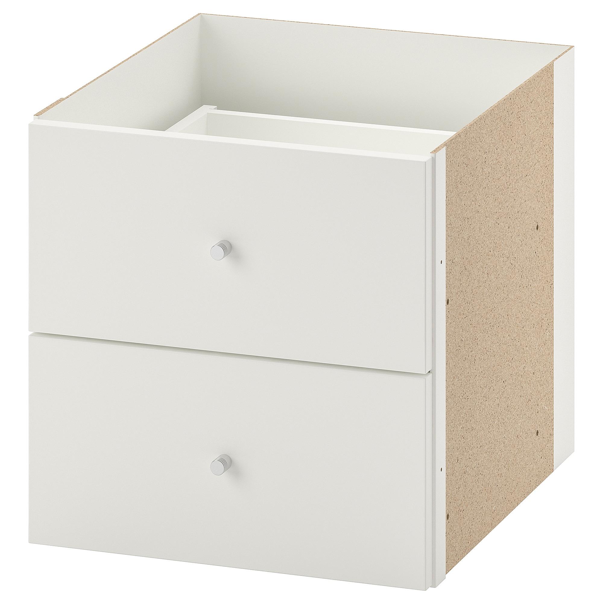bloc 2 tiroirs