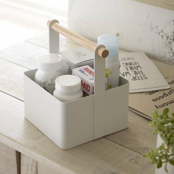 boite de rangement salle de bain