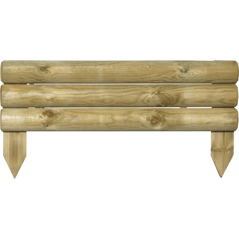 bordure bois a planter