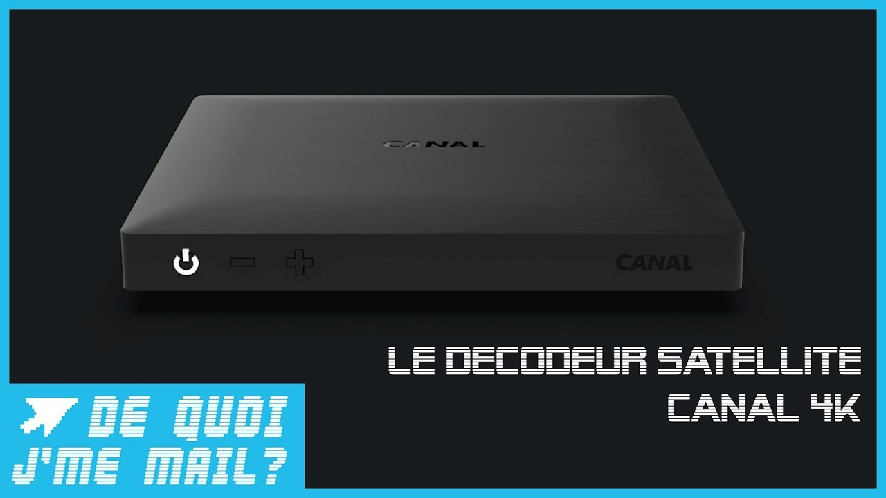 decodeur 4k canal