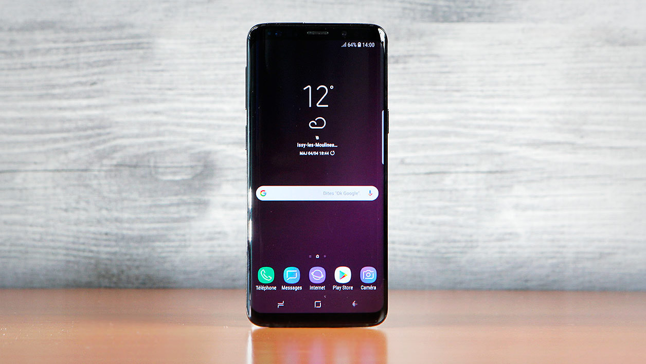galaxy s9 fiche technique