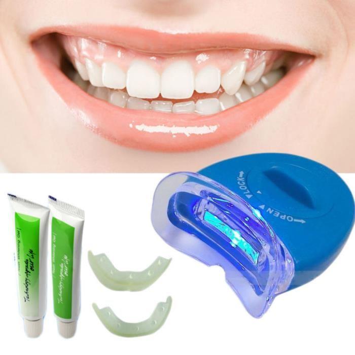 gel blanchiment dentaire