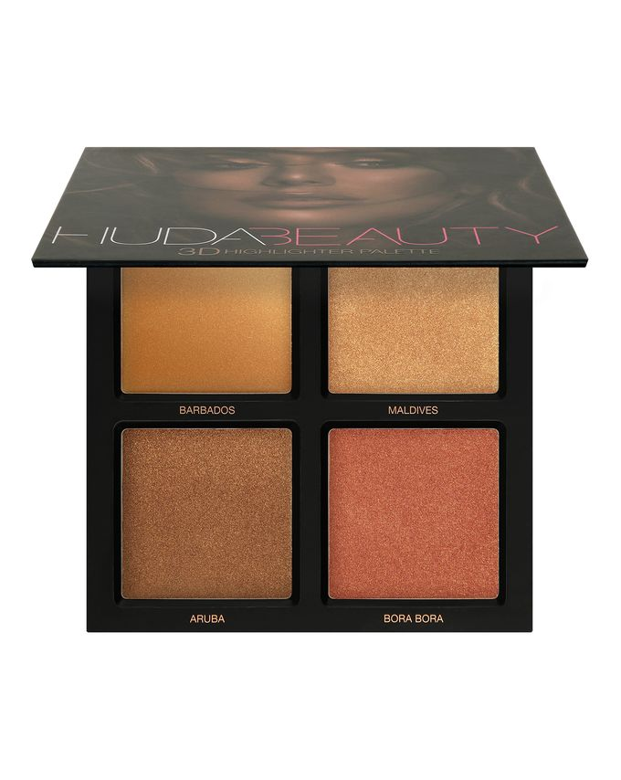 huda beauty palette highlighter